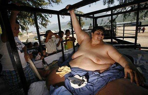 Мануэль Урибе - самый толстый человек из нынеживущих