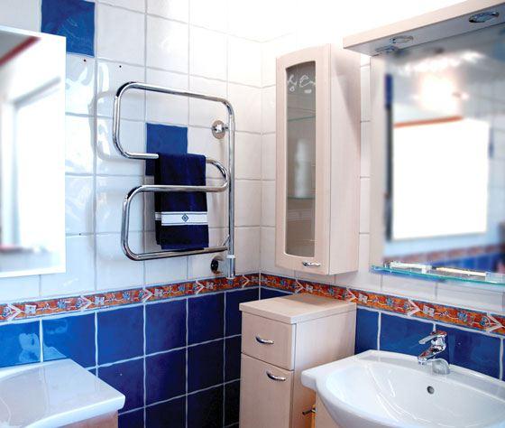 Электрический полотенцесушитель - электричество отключают реже, чем воду