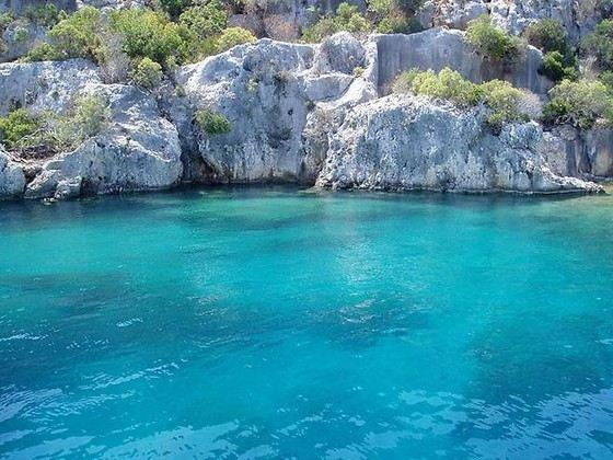 Самое чистое море в Турции - в Кемере
