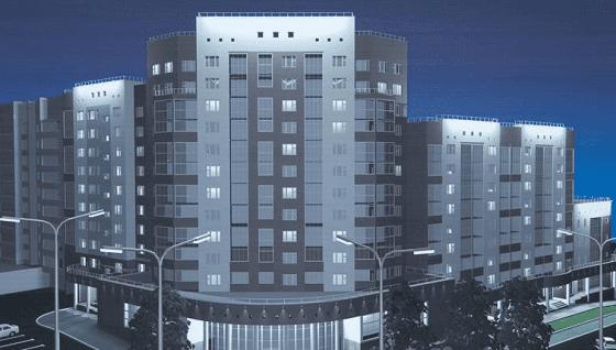 Новый жилой комплекс на ул. 8 марта, г. Уфа