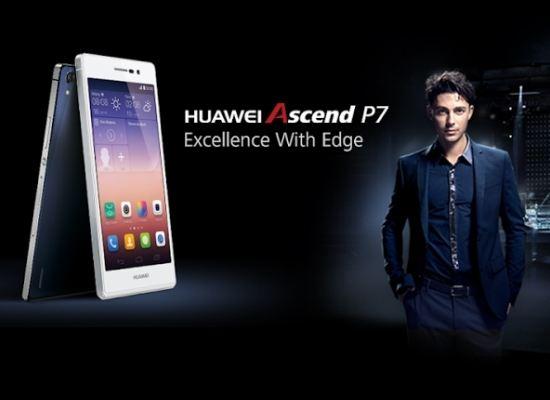 Представленный в Париже Huawei Ascend P7 оправдал ожидания
