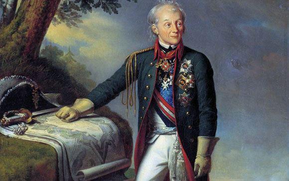Россияне считают Суворова лучшим полководцем в истории страны