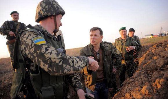 Олег Ляшко опроверг информацию о том, что его взяли в плен