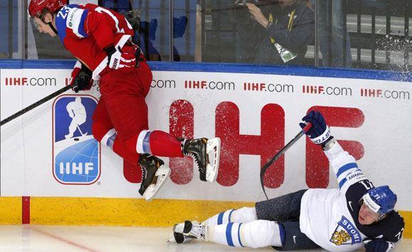 Сборная России по хоккею обыграла Финляндию на ЧМ-2014
