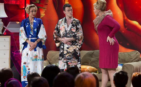 На шоу Comedy Woman появился мужчина