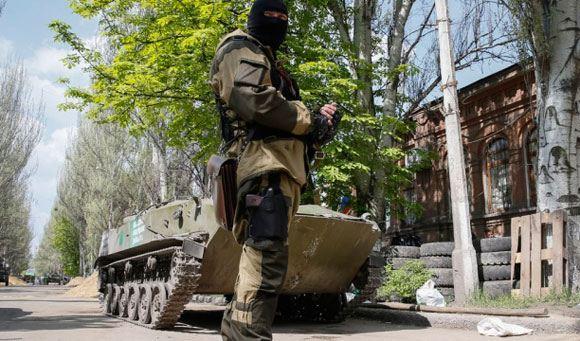 Пресса: Донецкие ополченцы взяли в плен полковника МВД Украины