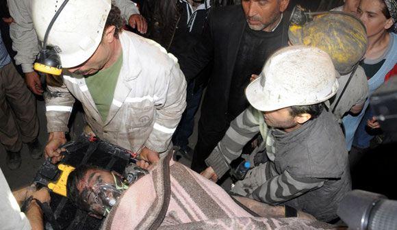 В Турции произошла крупна авария на угольной шахте