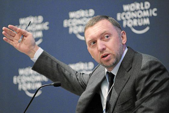 Почетное место в списке богатых людей занимает Олег Дерипаска