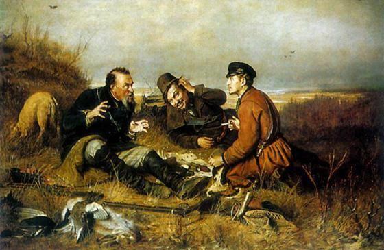 «Охотники на привале» В.Г.Перова