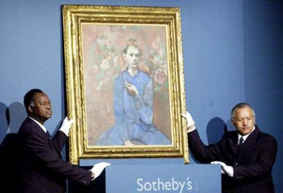 Мальчик с трубкой входит в число самых дорогих картин