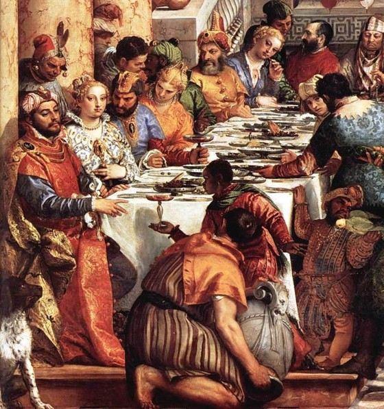 На самой большой картине в Лувре изображено 130 человек