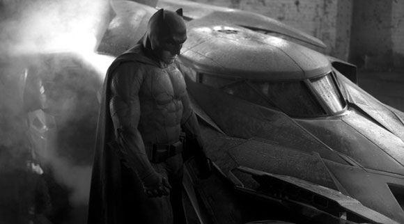 Кадр из картины «Бэтмен против Супермена»
