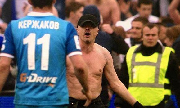 Напавший футболиста «Динамо» болельщик «Зенита» сбежал из Ленобласти