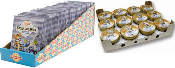 Примеры групповой картонной упаковки