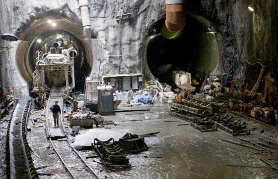 Темпы строительства московского метро впечатляют