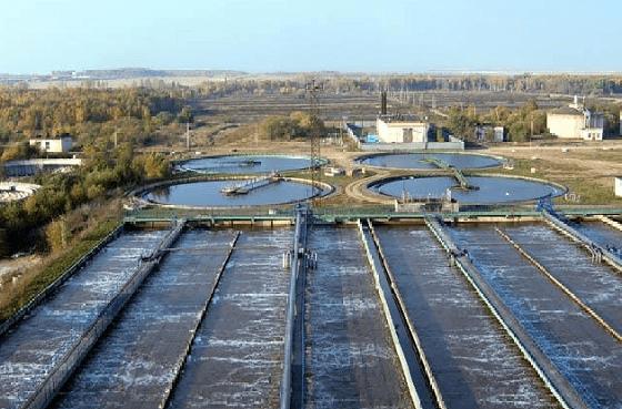 Очистные сооружения Новомосковска, второго по величине города Тульской области