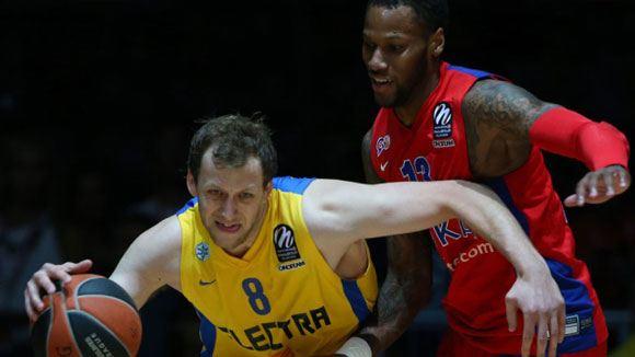 Баскетболисты ЦСКА не попали в финал Евролиги