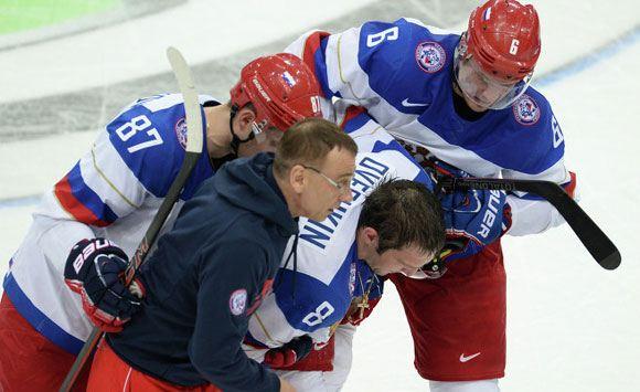 Овечкин получил травму во время матча с Германией