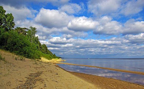 Чудско-Псковское озеро - одно из списка большие озера России