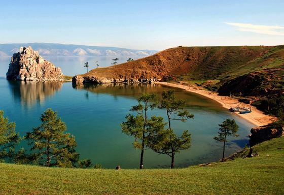 The largest freshwater lake - Baikal