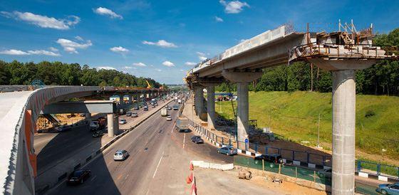 Возможности новой дороги значительно улучшатся