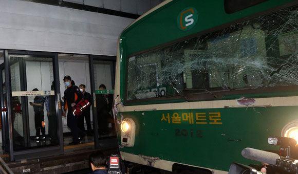В метро Сеула произошел взрыв