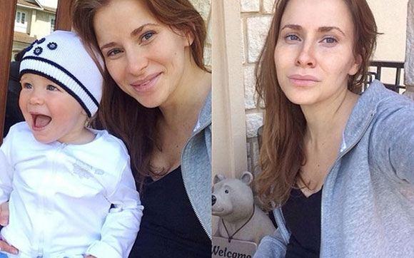 Невестка Федора Бондарчука выписалась из роддома