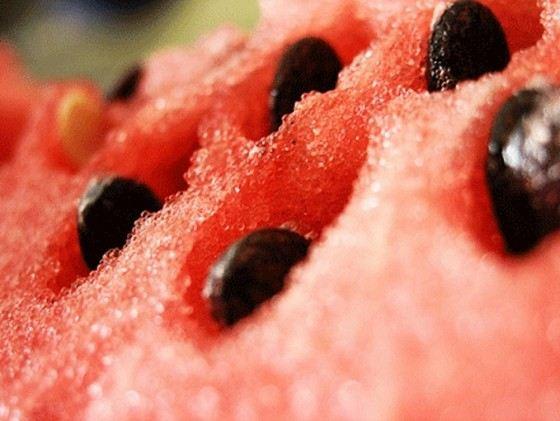 Мякоть самой большой ягоды