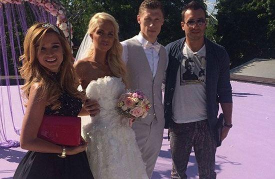 Павел Погребняк сыграл свадьбу