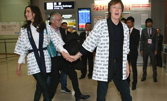 Paul McCartney was forced to cancel speeches in Japan
