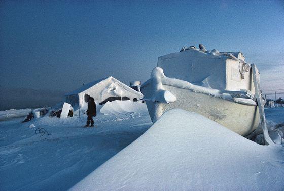 Барроу - самый холодный город на Аляске