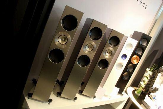 KEF Reference – эталон совершенства звука на выставке High End 2014