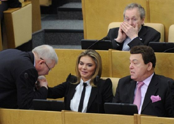 In the Duma, Alina is loved
