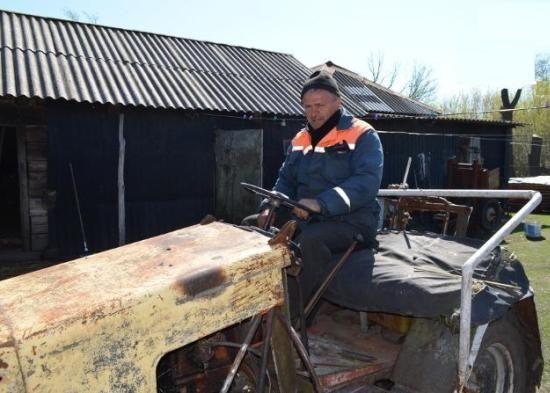 Мини трактор николай использует для