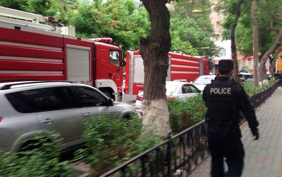 На рынке китайского города Урумчи произошла серия взрывов