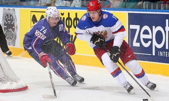 Сборная России по хоккею прошла в полуфинал чемпионата мира