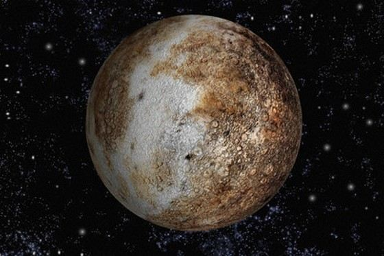 Pluto is quite small. Scientists can not agree on whether this planet