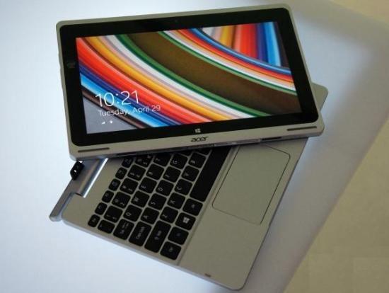Приоритетом для Acer станет поставка новинок (планшет-трансформер Aspire Switch 10)
