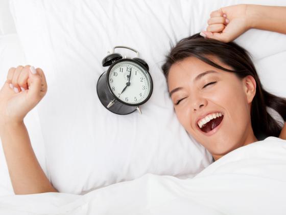 Соблюдение режима поможет вам высыпаться