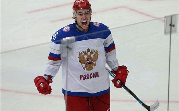 Россия разгромила шведов на ЧМ по хоккею в Минске