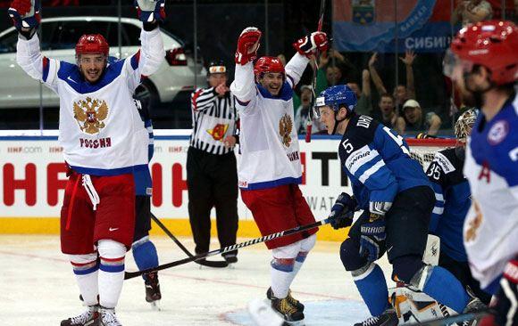 Россия завоевала победу в чемпионате мира по хоккею, обыграв финнов