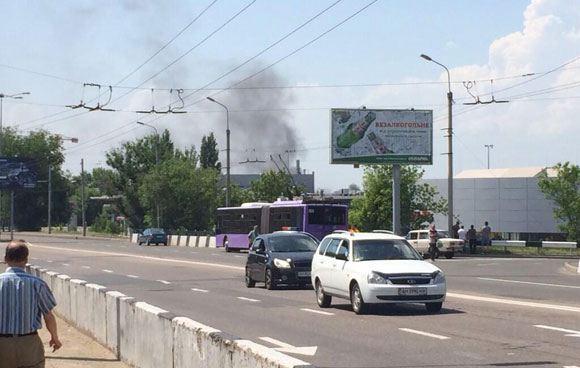 В аэропорту Донецка начался бой между ополченцами и украинской армией