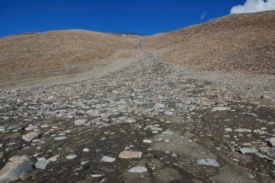 В сухих пустынях Антарктики миллионы лет не было дождей