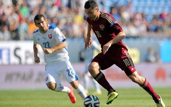 Россияне одолели словаков в товарищеском матче