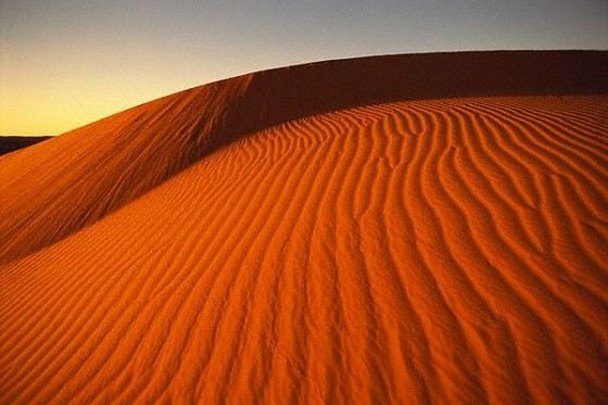 Kalahari - a huge desert in southern Africa