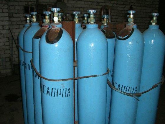 Кислород часто используется в промышленности
