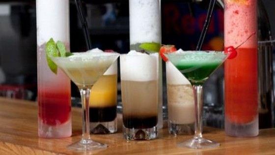 Кислородные коктейли становятся все более популярными