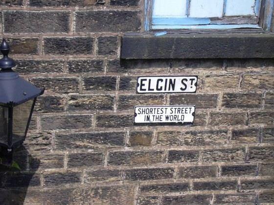 Эльджин-стрит одна из самых коротких в Англии