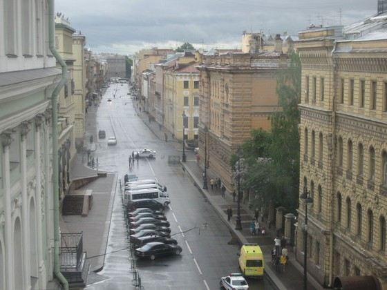 Улица Миллионная в Санкт-Петербурге входит в Золотой треугольник