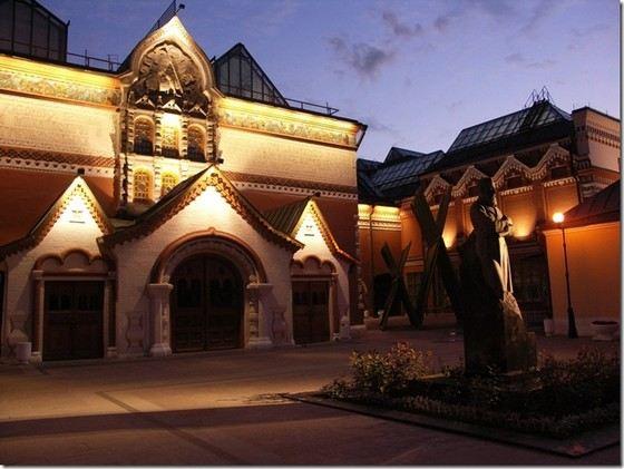 Третьяковская галерея знаменита во всем мире